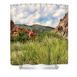 Colorado In Summer Shower Curtain