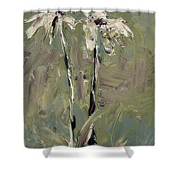 Cone Flowers Shower Curtain by Jim Vance