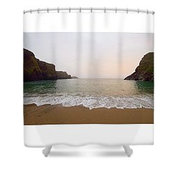 North Coast Sunset Shower Curtain
