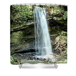 Cucumber Falls Pennsylvania Shower Curtain
