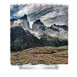 Cuernos Del Paine Shower Curtain