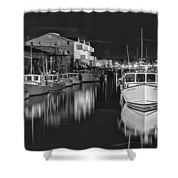 Custom House Wharf Shower Curtain