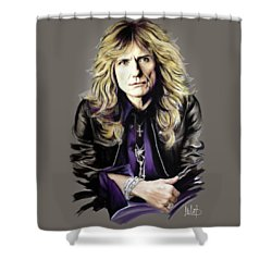 David Coverdale 1 Shower Curtain