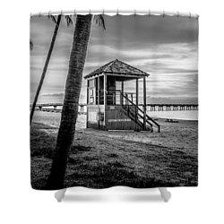 Deerfield Beach  Shower Curtain by Louis Ferreira