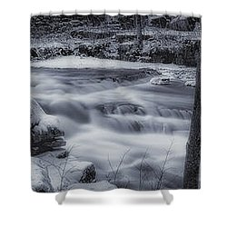 Devils River #1 Shower Curtain