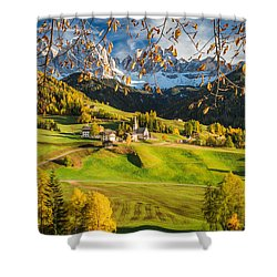 Dolomites Shower Curtain