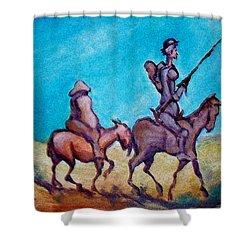 Don Quixote  Shower Curtain