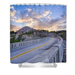 Donner Memorial Bridge Shower Curtain