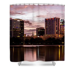 Downtown Orlando Shower Curtain
