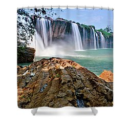 Draynur Waterfall Shower Curtain