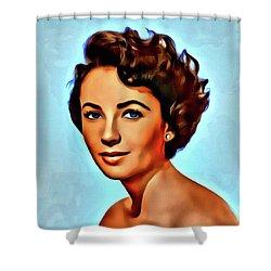 Elizabeth Taylor, Vintage Hollywood Legend Shower Curtain