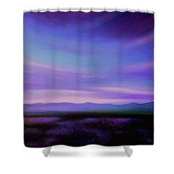 Evening Colours Shower Curtain