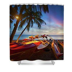Evening Falls Shower Curtain