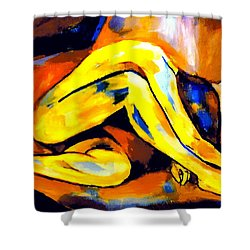 Exiles From Delight Shower Curtain
