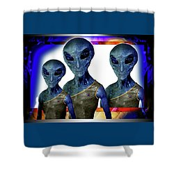 Explorers   Shower Curtain by Hartmut Jager