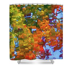 Perfect Lake Shower Curtain by Lanjee Chee