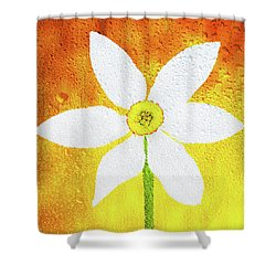 Shower Curtain featuring the photograph Flower Paradise by Bess Hamiti