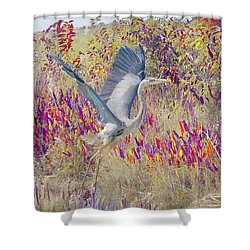 Fly Fly Away Shower Curtain