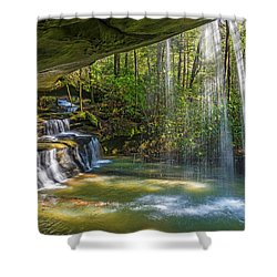 2 For One Falls Shower Curtain