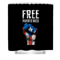 Free Puerto Rico Shower Curtain