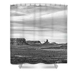 Shower Curtain featuring the photograph From Artist's Point by Jon Glaser