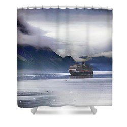 Glacier Bay Alaska Shower Curtain