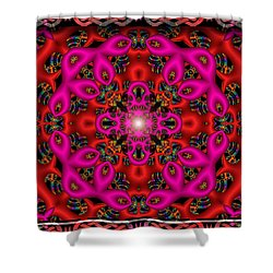 Shower Curtain featuring the digital art Glimmer Of Hope by Robert Orinski
