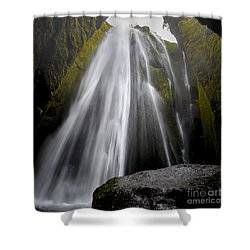 Gljufrabui Shower Curtain