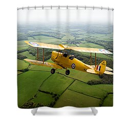 Shower Curtain featuring the photograph Going Solo by Gary Eason