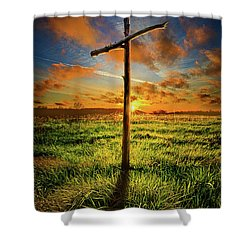 Shower Curtain featuring the photograph Good Friday by Phil Koch
