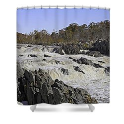 Great Falls Virginia Shower Curtain