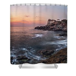 Guardian Of The Sea Shower Curtain