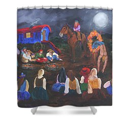 Gypsy Troupe Shower Curtain