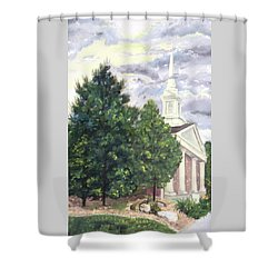 Hale Street Chapel Shower Curtain
