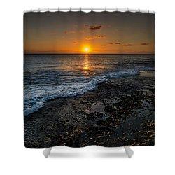 Honolulu Sunset Shower Curtain