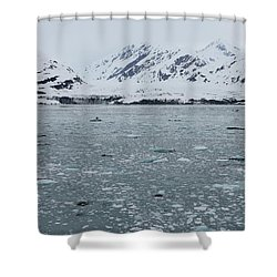 Shower Curtain featuring the photograph Icy Wonderland by Brandy Little