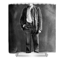 Jack London (1876-1916) Shower Curtain by Granger