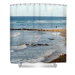 Jaffa Beach 7 Shower Curtain