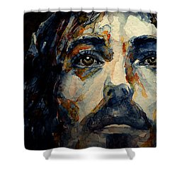Jesus Christ Shower Curtain