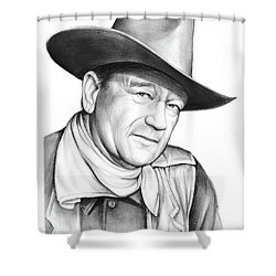 John Wayne Shower Curtain