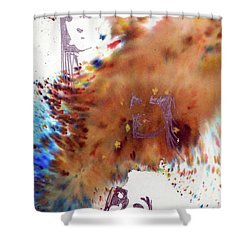Juno Who Shower Curtain by Ed Heaton