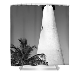 Key Biscayne Lighthouse Shower Curtain