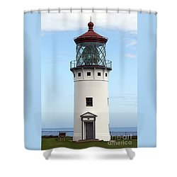 Kilauea Lighthouse On Kauai Shower Curtain