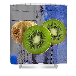 Kiwi Collection Shower Curtain