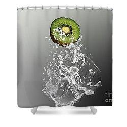 Kiwi Splash Shower Curtain