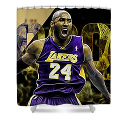 Kobe Bryant Collection Shower Curtain