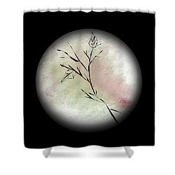 2 Leaves Shower Curtain
