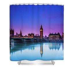 London Big Ben  Shower Curtain