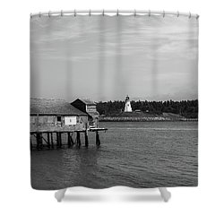 Shower Curtain featuring the photograph Lubec, Maine by Trace Kittrell