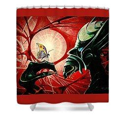 Lucifer  Shower Curtain